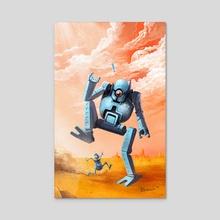 N-bots - Acrylic by Ivan Berov