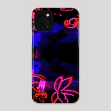 NEON APPARITION - Phone Case by Saint Vagrant
