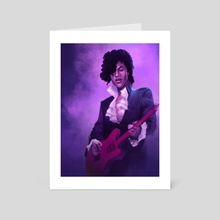 Purple Rain - Art Card by K. C. Garza