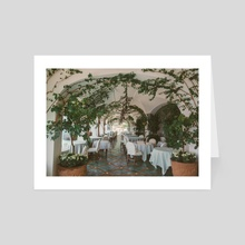 Positano 1.7 - Art Card by Solmaz Saberi