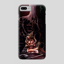 Our Wisdom Flows So Sweet - Phone Case by George Avdoulos
