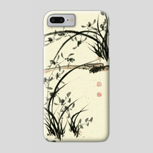 Orchid - 110 - Phone Case by River Han