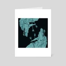 Dueling Arrows - Art Card by Zelaphas