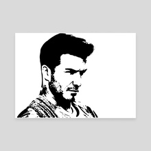 David Beckham - Canvas by 103 cia