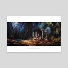 Proud Ancestors - Canvas by Brennan Massicotte
