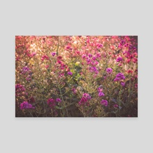 floral - Canvas by Mark Mis