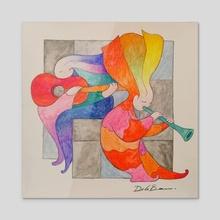 Melodias - Acrylic by Jose De la Barra