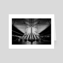 Ghost Station - Art Card by Maik Pham