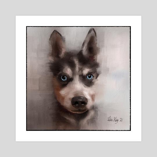 Blue eyed boy by Tobias