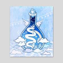 ice potion - Acrylic by riotopolis