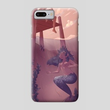 sunset by the pier - Phone Case by Laura Long