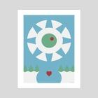 BLISS ABYSS - Art Print by Laertis Art
