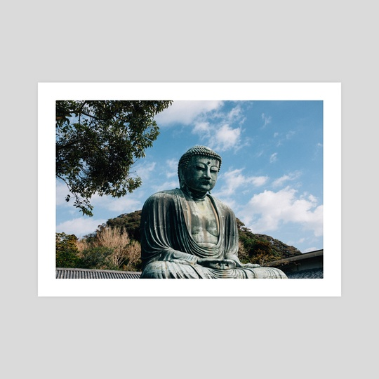 The Great Buddha I by Luna Howell