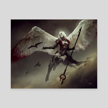 AVACYN / Magic: the Gathering - Canvas by Bastien Lecouffe Deharme