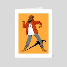 Drake - Art Card by David Saracino