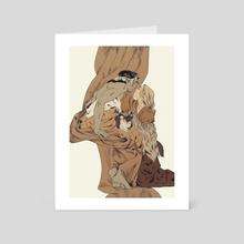 Beloved - Art Card by Marta Milczarek