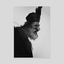 kozak - Canvas by Michal Lisowski