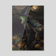 Scarecrow - Acrylic by Luke Fitzsimons