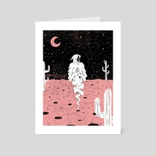Desert Apparition - Art Card by Evangeline Gallagher