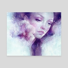 February - Canvas by Anna Dittmann