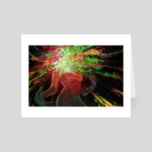 Overwhelm - Art Card by Kiwi Byrd