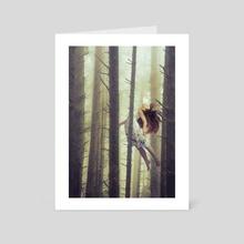 Let me go - Art Card by Richard Davis