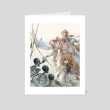 Call of the Sirens - Art Card by Shaima