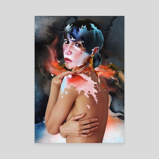 Watercolor vitiligo. by Eugenia Shchukina