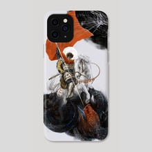 St George & The Dragon - Phone Case by Miko