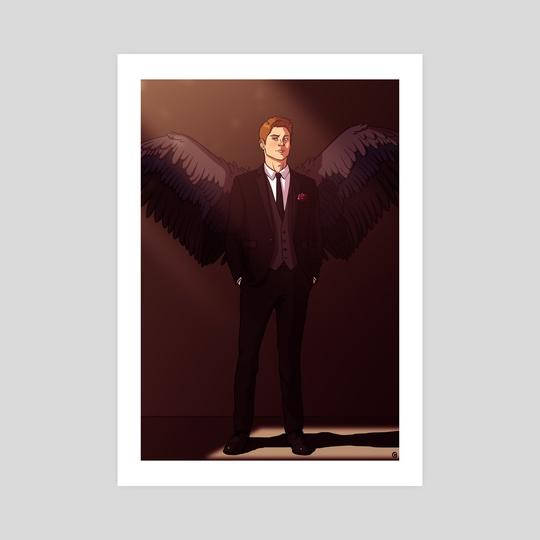 Archangel by Karina Gelencser