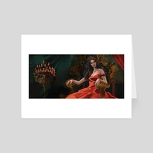 Red Queen - Art Card by Leah McKay