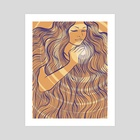 Full of love - Art Print by Danielle Morgan