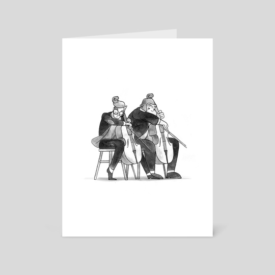 Duet 3/3 - Cello by Samuel Lee
