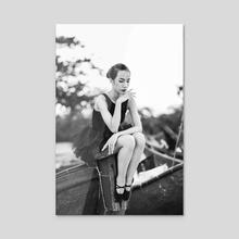 Ballet_6 - Acrylic by Duc Dang