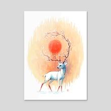 Spring Spirit - Acrylic by Indré Bankauskaité