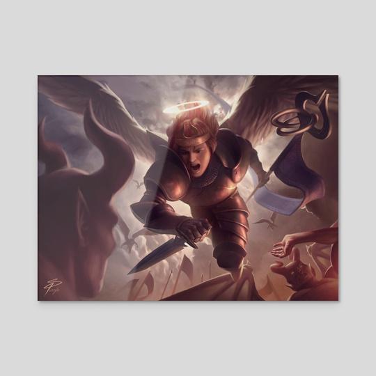 Celestial Intervention by Simon Pape