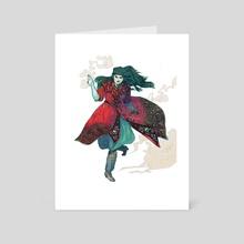 Luthien Attacks - Art Card by Em Niwa