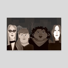 Coven Sqaud - Canvas by Stephen Menard
