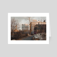 Dumbo, Brooklyn - Art Card by NoMads Photography