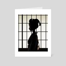Geisha - Art Card by Jimmy Lam