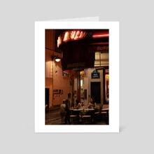 Montmartre  - Art Card by En Bait
