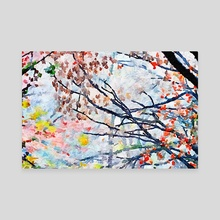 Autumn Leaves - Canvas by Lesley Kim