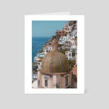 Positano 1.2 - Art Card by Solmaz Saberi