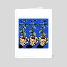 Succulents! - Art Card by tijela