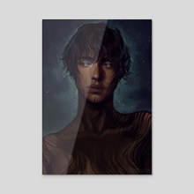 stargaze - Acrylic by harteus