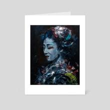 GEISHA - Art Card by Jeff Grimal