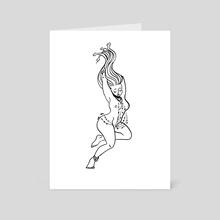 Medusa - Art Card by Kirsten Shiel