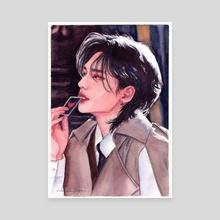 detective hyunjin - Canvas by Nadya Azmi