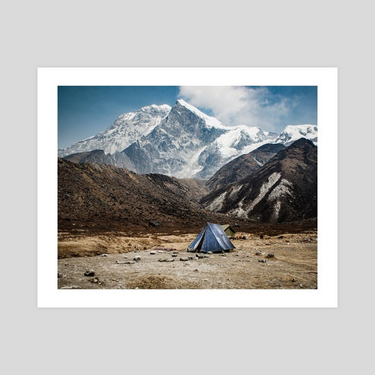 Himalayan camp by Brent Olson