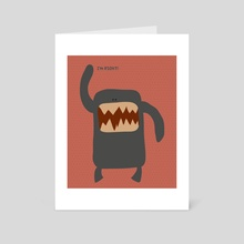 Monster Right! - Art Card by Tartaruga Feliz
